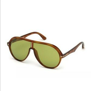 Tom Ford Men's Sunglasses FT0647 MONTGOMERY-02 New